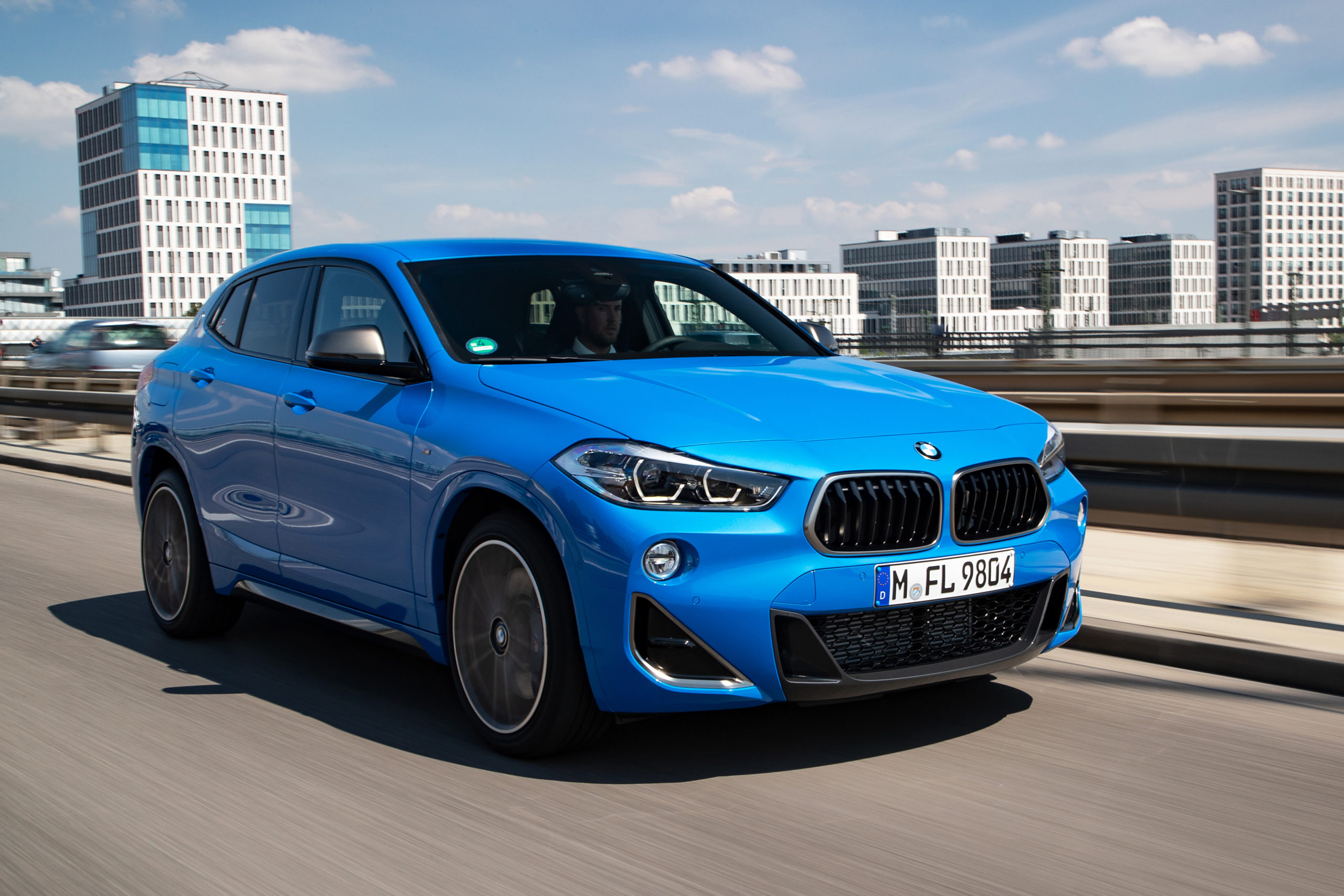 BMW compact luxury car