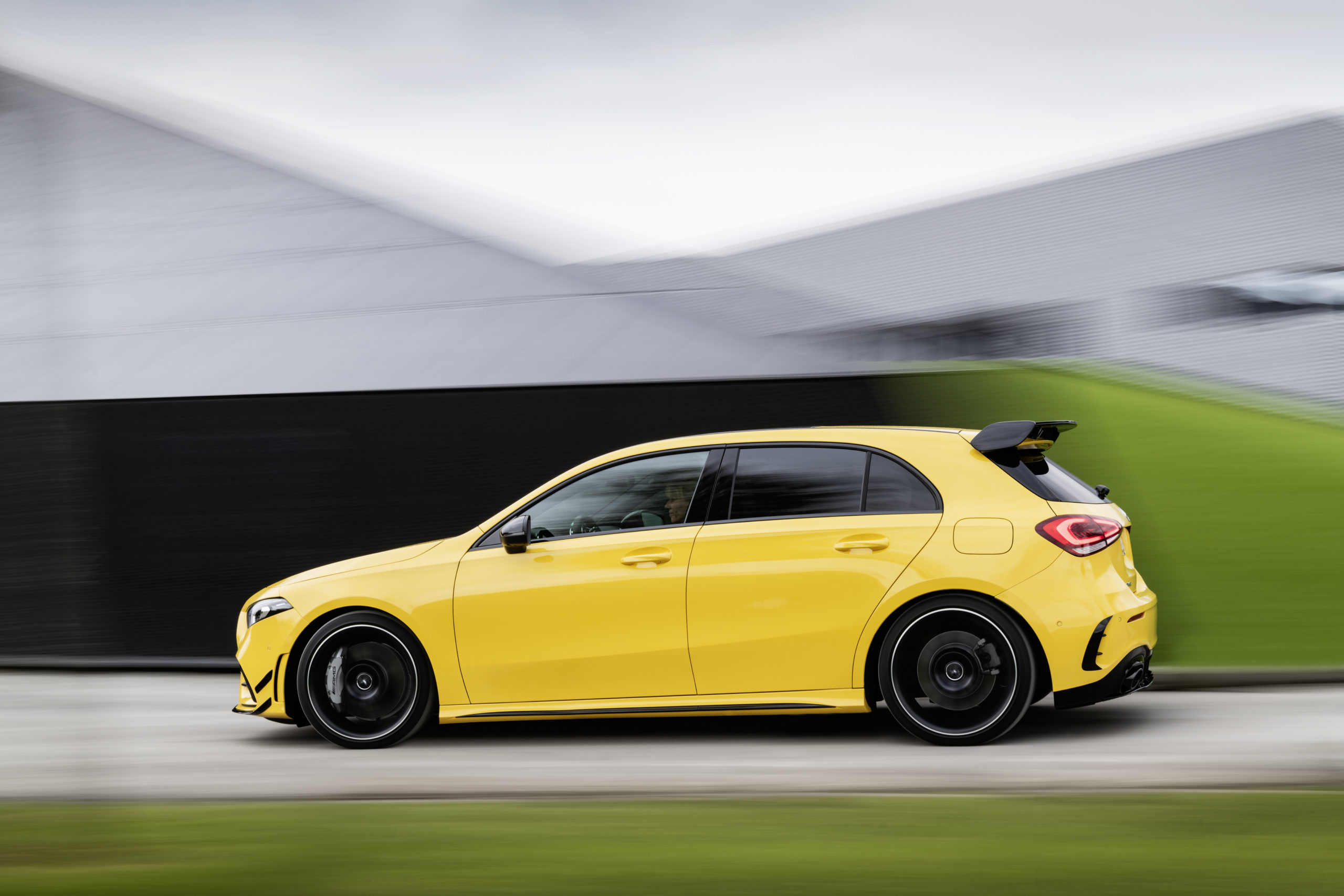 Mercedes AMG is a compact luxury car