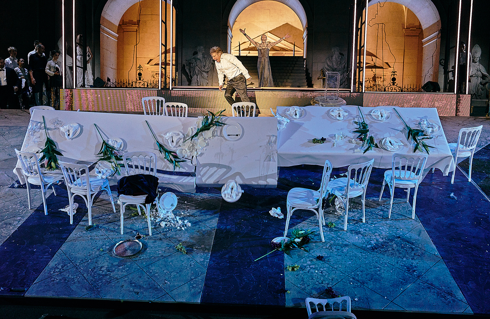 A set at a Salzburg Festival Play