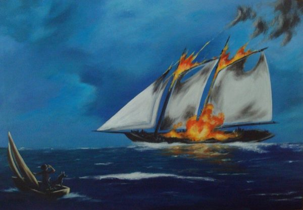 Canadian Urban Legends: The Flaming Ghost Ship of Prince Edward Island