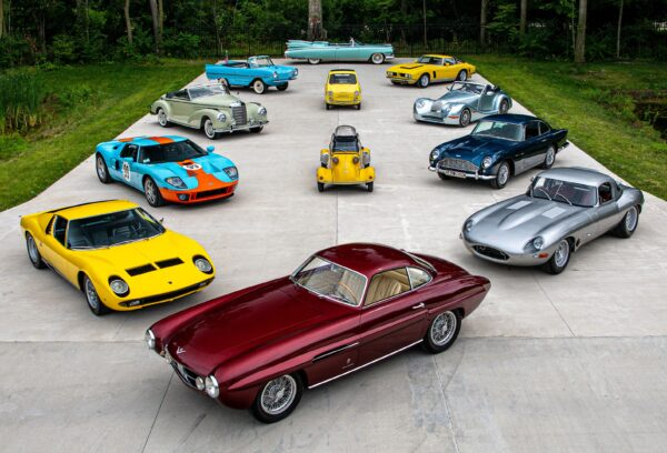 Scandal-Ridden Elkhart Collection Auction Features Rare Cars Like Wayne Gretzky's GT