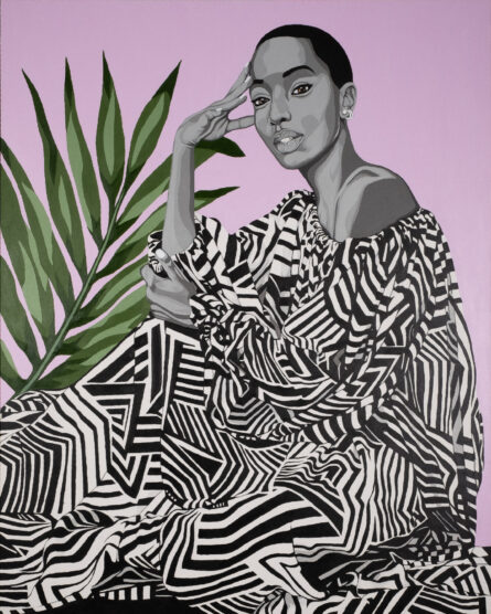 Toronto Artist Benny Bing's BLOOM Exhibition Reclaims Narratives of African Beauty
