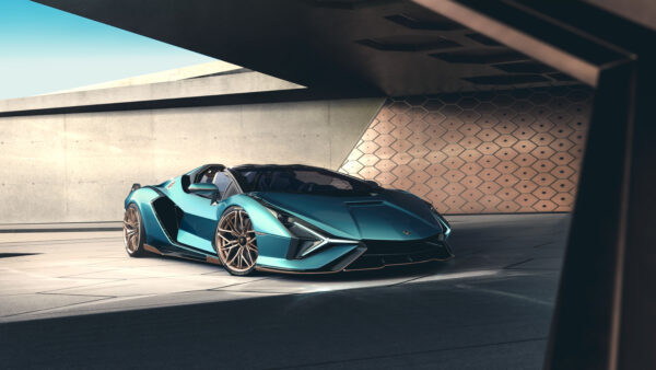 Lamborghini Sián Roadster Blends Open-Air Experience With Electrifying Performance