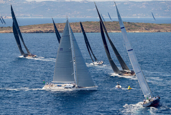 Racing in the Waters off the Coast of Sardinia