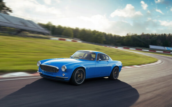 Gorgeous Volvo P1800 Classic Gets Modern Performance Thanks to Cyan Racing