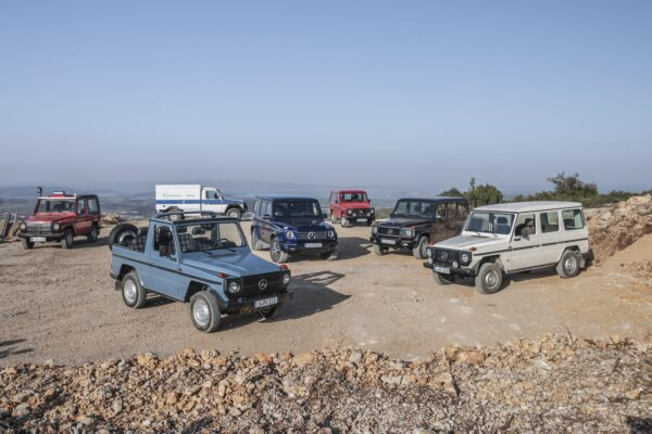 The Mercedes G-Class: Five Important Models From Its History