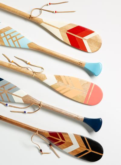 Canadian BIPOC owned business canoe paddles