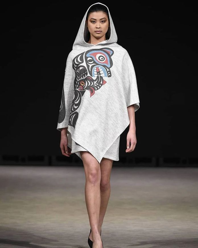 Canadian BIPOC owned business fashion poncho