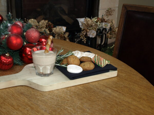The Teahouse Offers an Alternative to the Traditional Milk and Cookies for Santa
