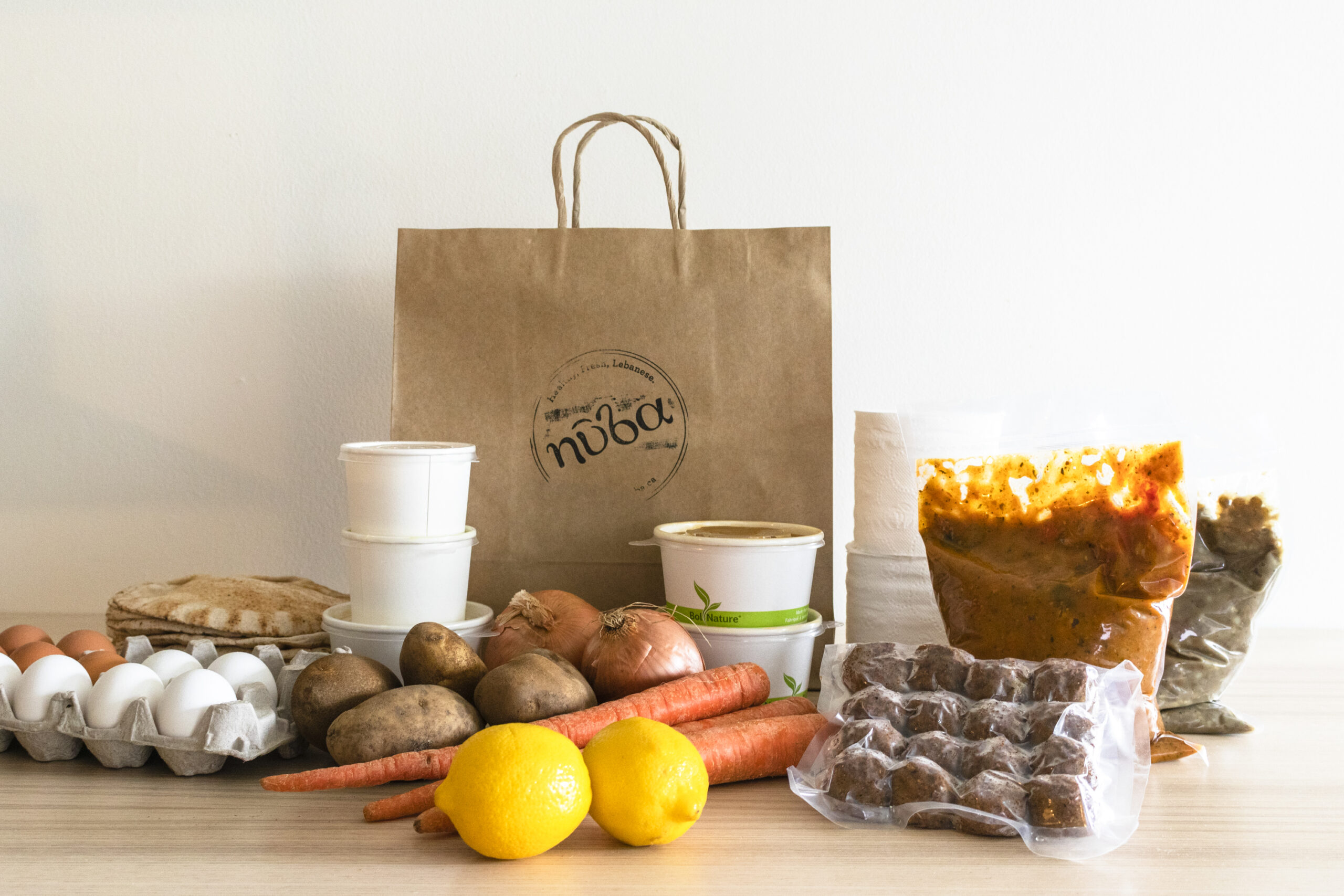 gourmet take out from Nuba Vancouver