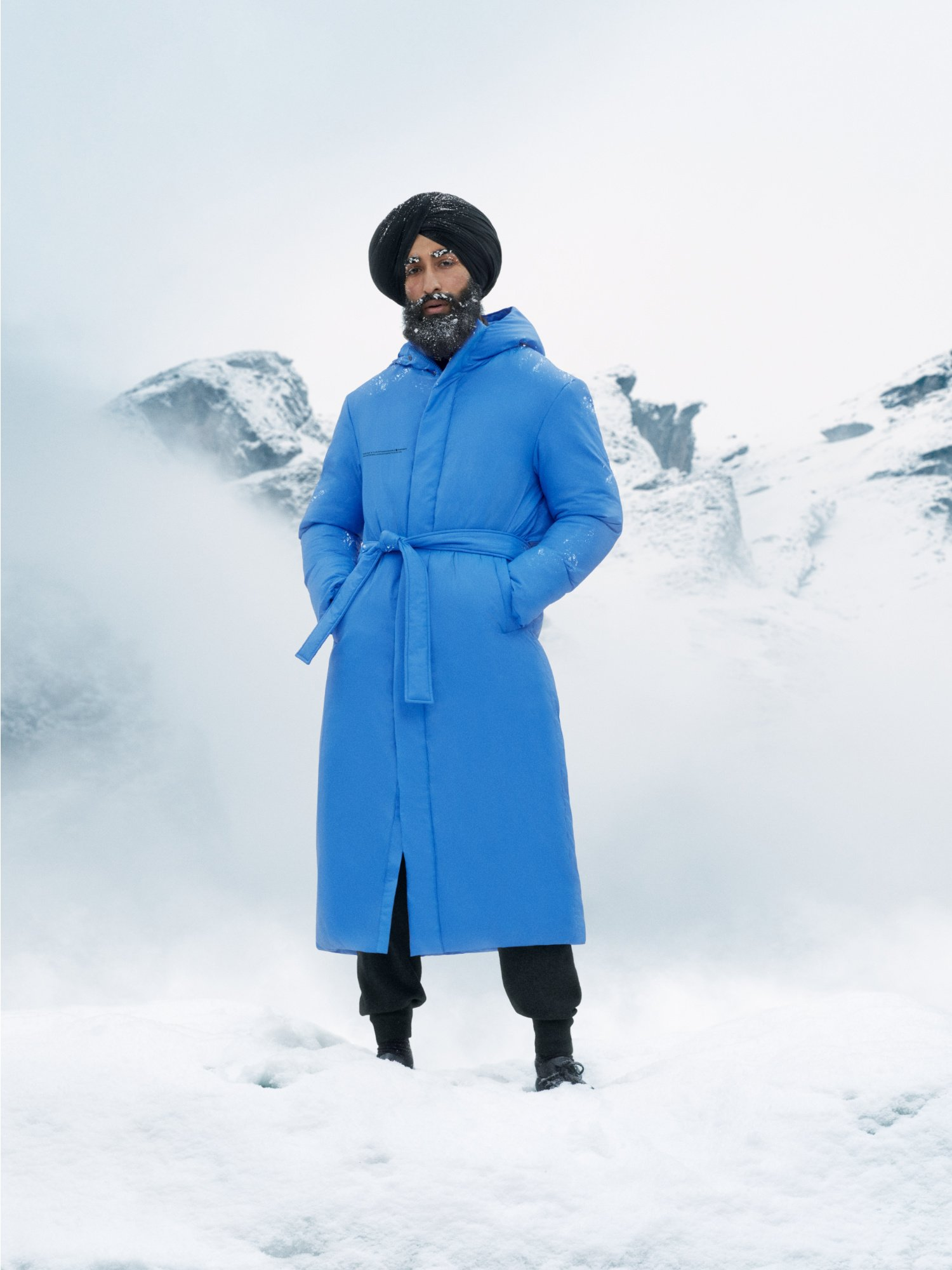 outerwear sustainable canada men blue