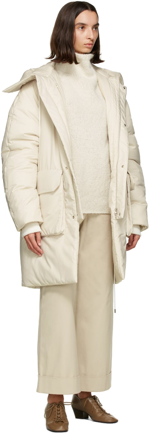 outerwear sustainable canada white long
