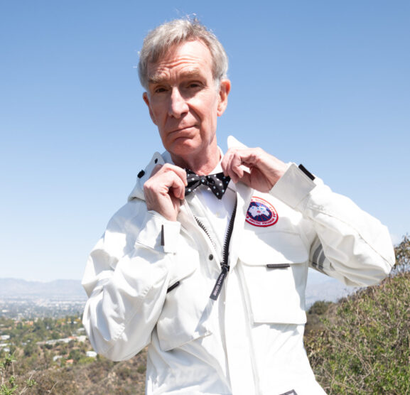 Canada Goose Teams Up With Bill Nye for a More Sustainable Style