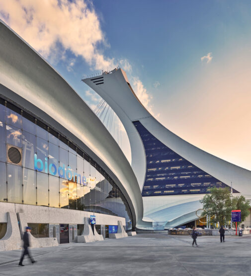 A Monumental Shroud Brings Montreal's Biodome Back to Life