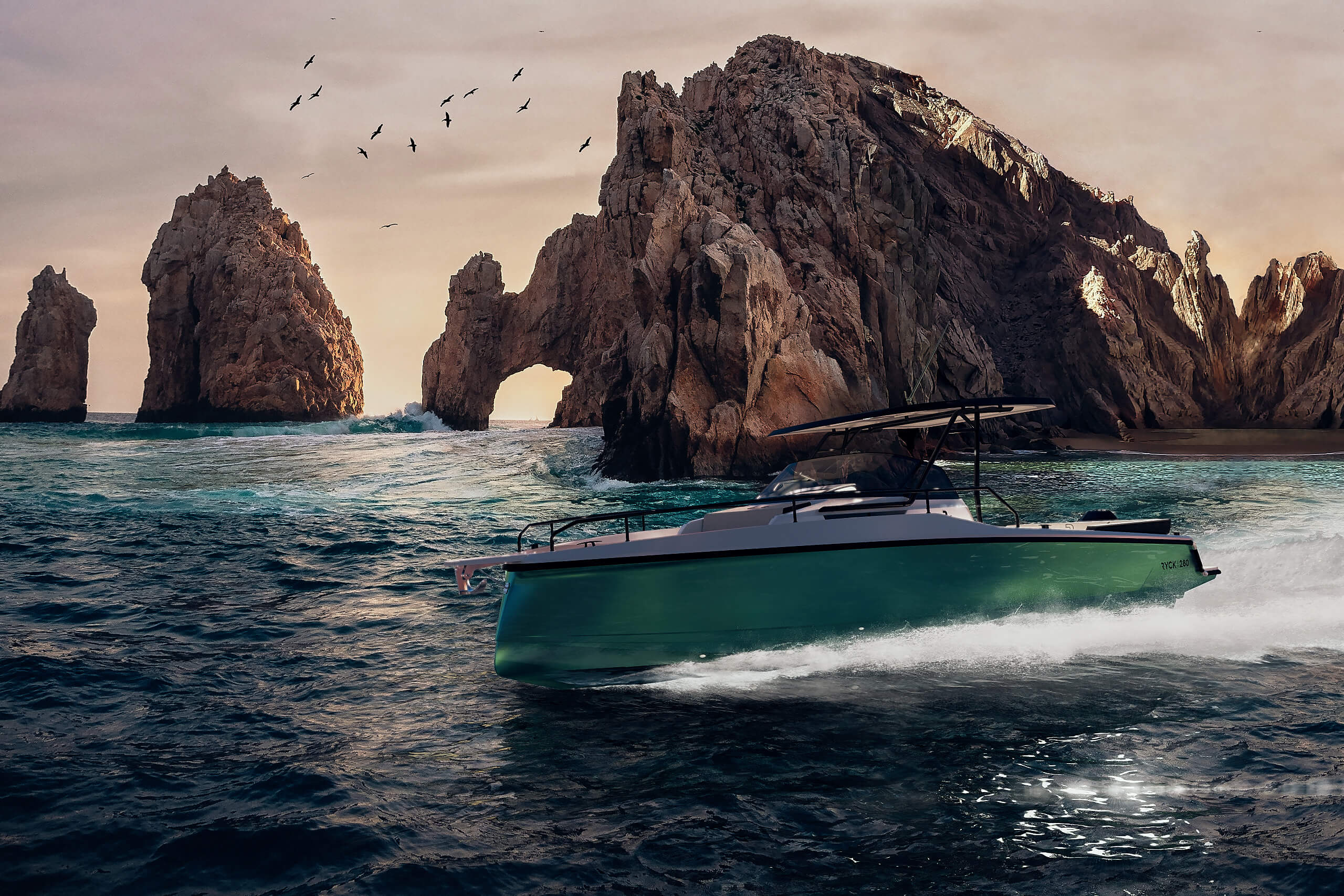Rych 280 Green Cannes Yachting Festival.