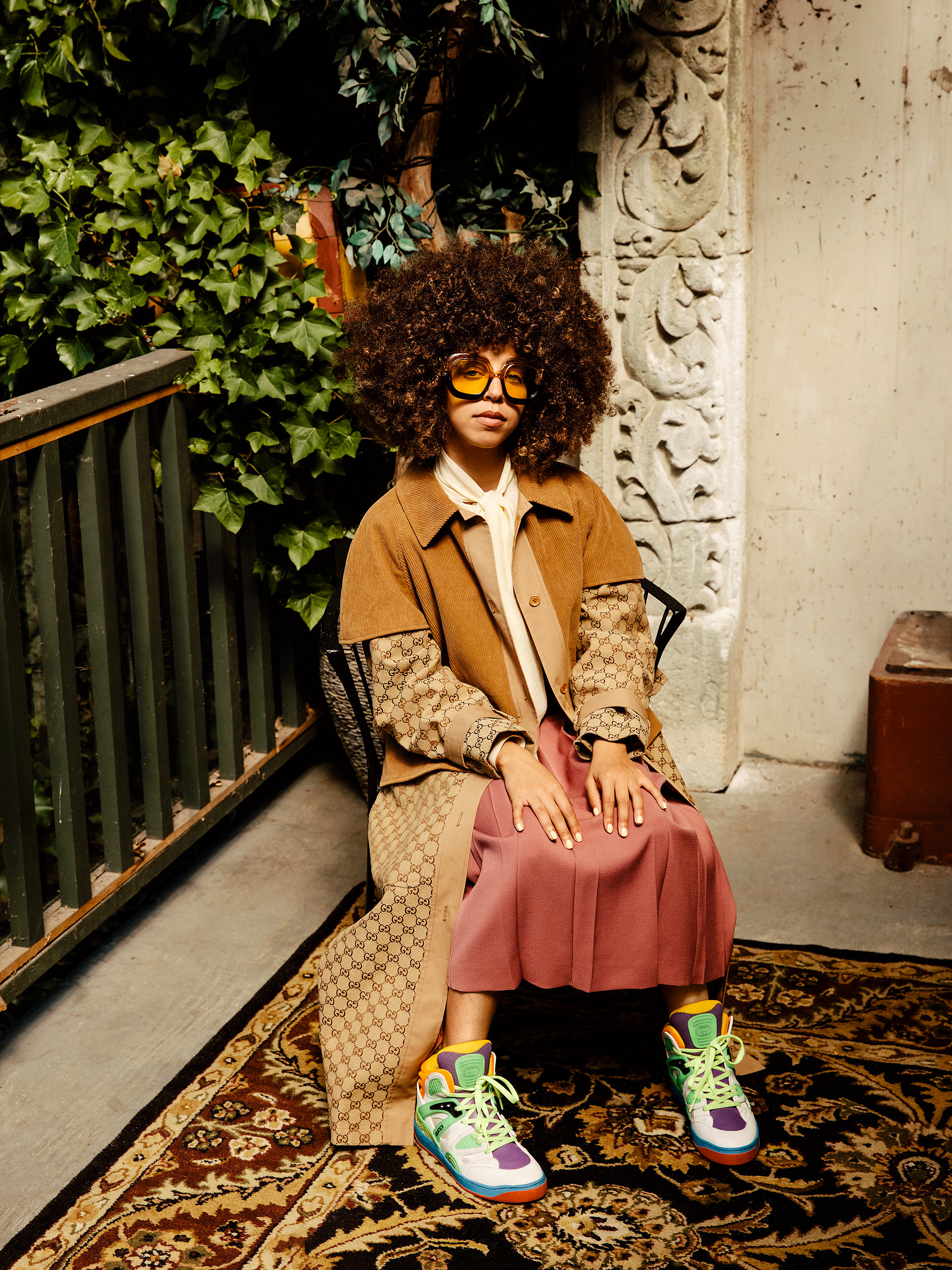 Hayley Law Riverdale Gucci outfit