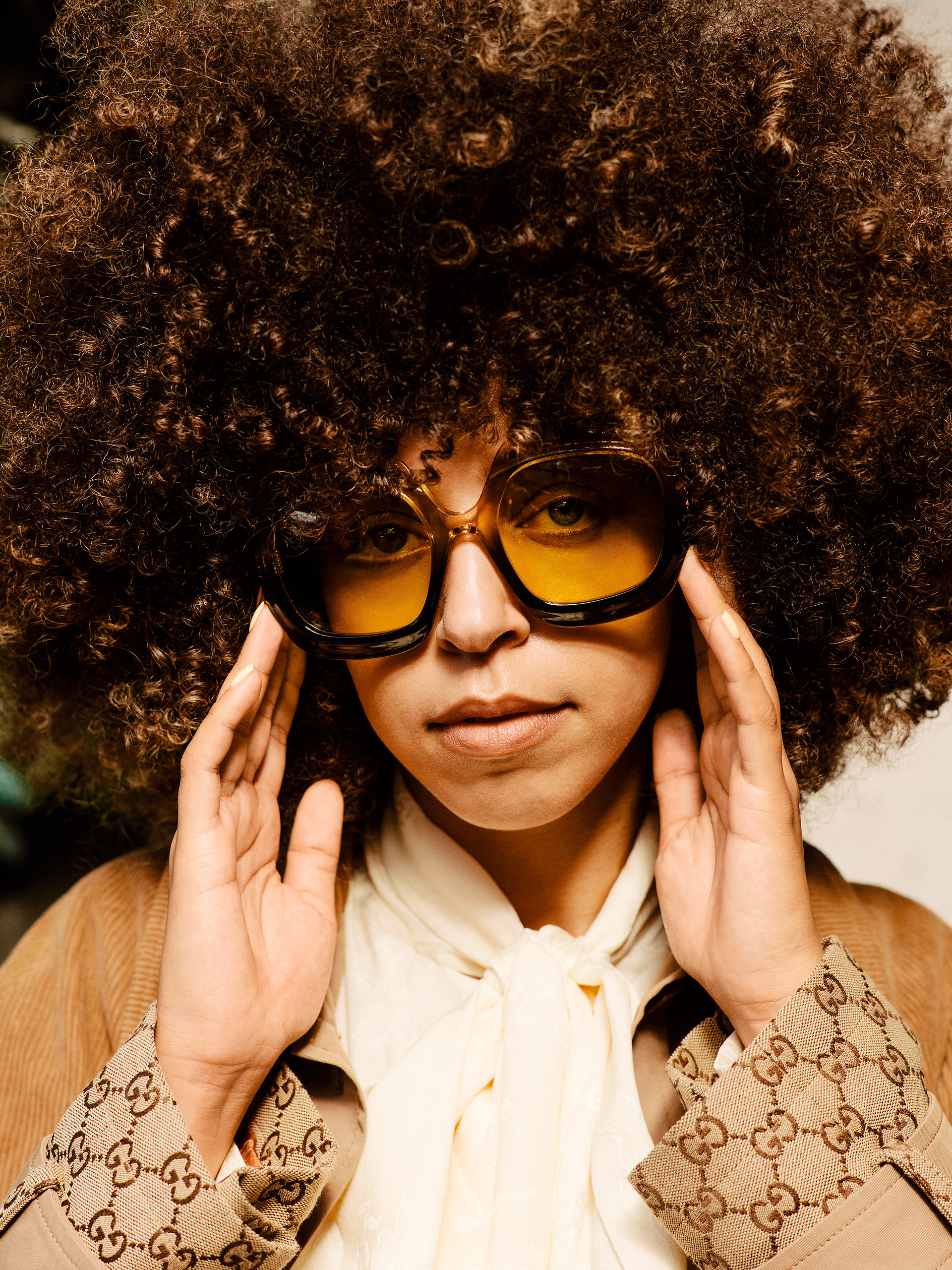 Hayley Law Riverdale gucci