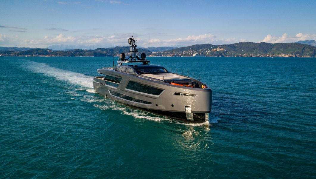 Baglietto 40 at Cannes Yachting Festival.