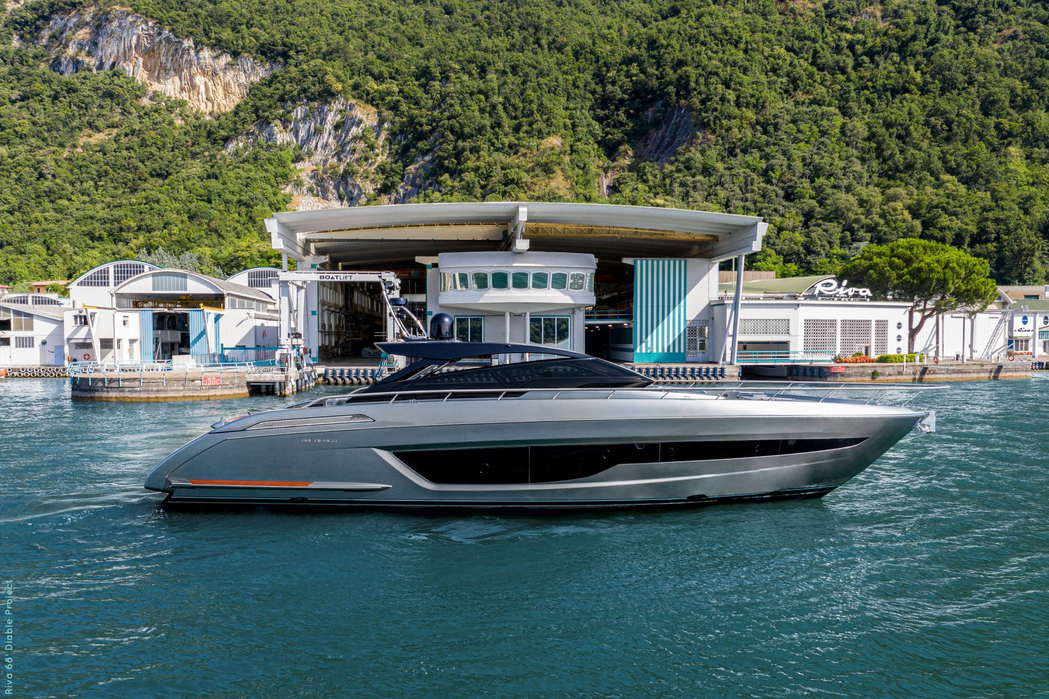 Riva Diable Cannes Yachting Festival.