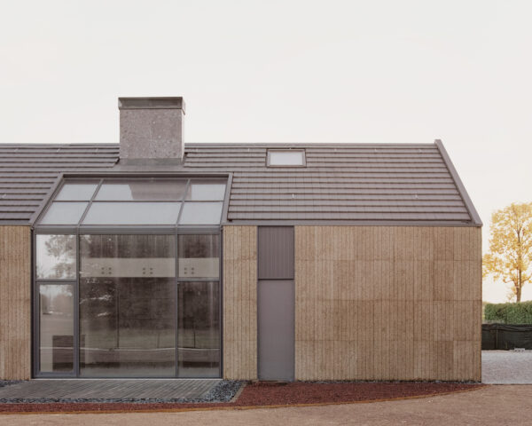 Home of the Week: The House of Wood, Straw and Cork by LCA